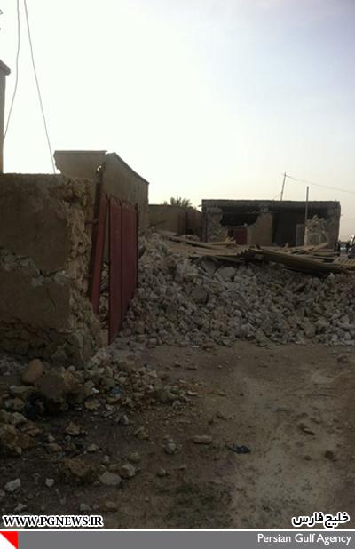 تصاویری از زلزله بوشهر