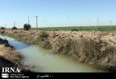 لایروبی کانال بتنی در ۲۱۹ هکتار اراضی کشاورزی قائمشهر انجام شد