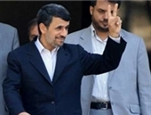 افتتاح قطعه ۴ آزادراه تهران – شمال با حضور احمدینژاد