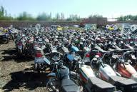 خطوط معاینه فنی موتور سیکلتها تعطیل است