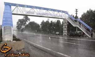 ۳دستگاه پل عابر پیاده در غرب تهران احداث شد