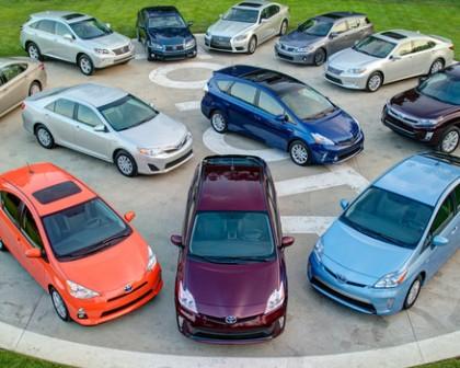 آمارجدید فروش خودروهای هیبریدی تویوتا و لکسوس