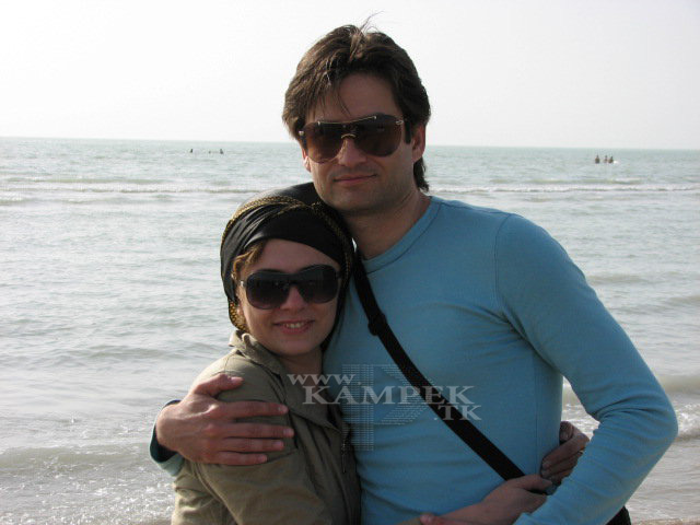 جدید ترین عکس پویا امینی و همسرش