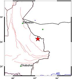 """زلزله ۵٫۶ ریشتری """"سراوان"""" سیستان و بلوچستان را لرزاند+ جزئیات"""