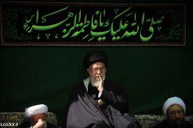 اولین شب عزاداری حضرت فاطمه زهرا سلام الله علیها در حسینیه امام خمینی(ره) برگزار شد
