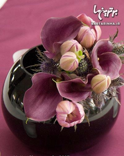 ترکیب رنگ اطلسی استفاده از گل های طبیعی در دکوراسیون منزل - جديدترين اخبار ...