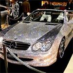 خودرویی که الماس پوش شد