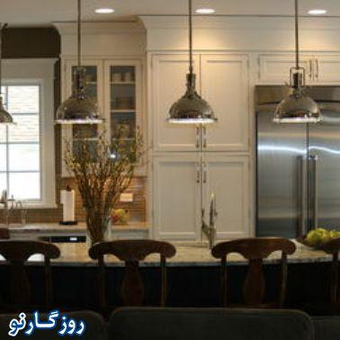 تکنیک هایی برائ نورپردازی در آشپزخانه!