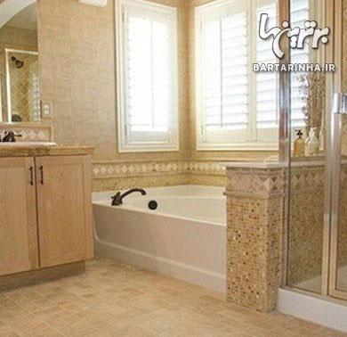 چه نوع کفپوشی برائ حمام مناسب است؟