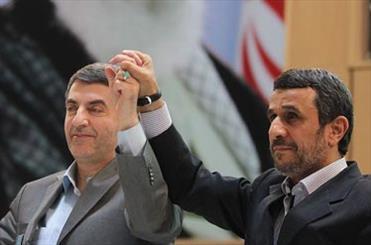 مشایی با احمدی نژاد آمد+عکس