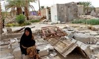 آبگرفتگی معابر مناطق زلزله زده استان بوشهر و احتمال وقوع سیل