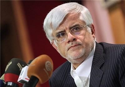 عارف:روحانی نمیتواند کاندیدای اصلاحطلبان باشد