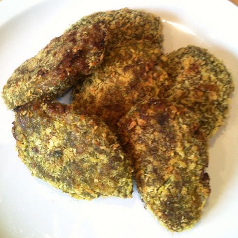طرز تهیه کتلت با سبزی