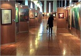 نمایشگاه نقاشی های مهناز حسین زاده در گالری والی