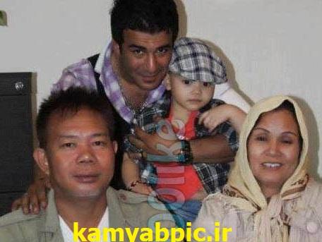 خانواد همسر تایلندی یوسف تیموری