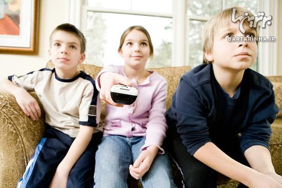 رابطه تلویزیون و فرزندانتان را کنترل کنید!