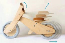دوچرخه ای که بزرگ می شود+تصاویر
