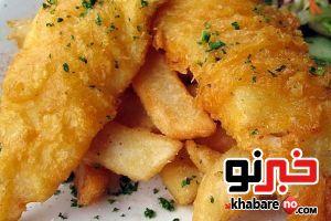 طرز تهیه فیش اند چیپس (fish & chips) رستورانی محبوب ترین غذای انگلیسی