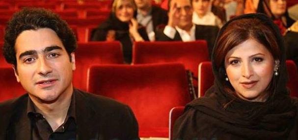 همایون شجریان و همسرش گیتا خوانساری