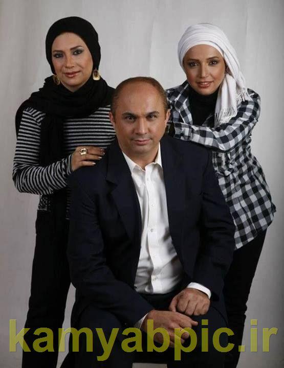 عکس جدید شبنم قلی خانی به همراه خواهر و برادرش