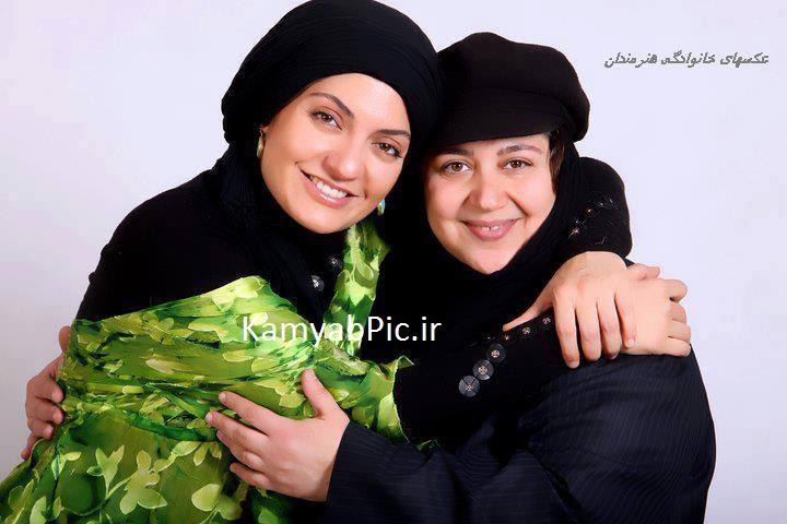 عکس مهناز افشار در آغوش لرستانی