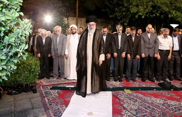 جمعی از اهالی فرهنگ و هنر با رهبر معظم انقلاب دیدار کردند