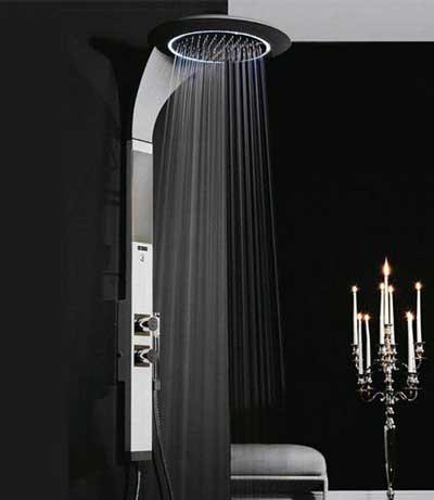 طراحی مدرن دوش حمام