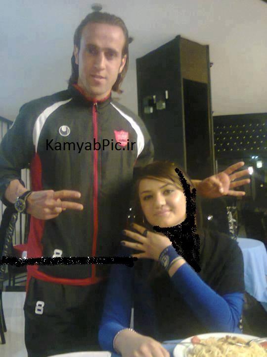 عکس از علی طباطبایی و همسرش