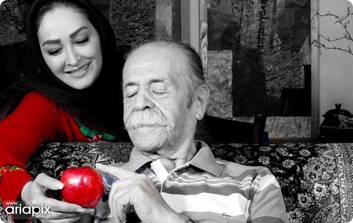 عکس جدید از الهام حمیدی و محمدعلی کشاورز
