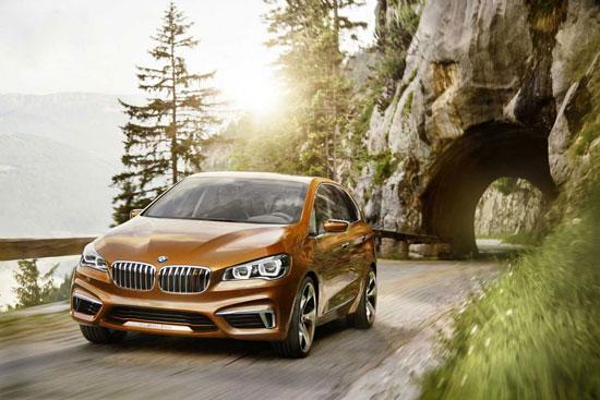 تصاویر خیره کننده از از BMW مینی ون 2014