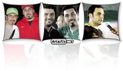 عکسهای جام ستارهها رمضان 92 با حضور خوانندگان و بازیگران
