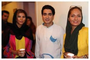 مهناز افشار و سحر دولت شاهی در کنار همایون شجریان +عکس