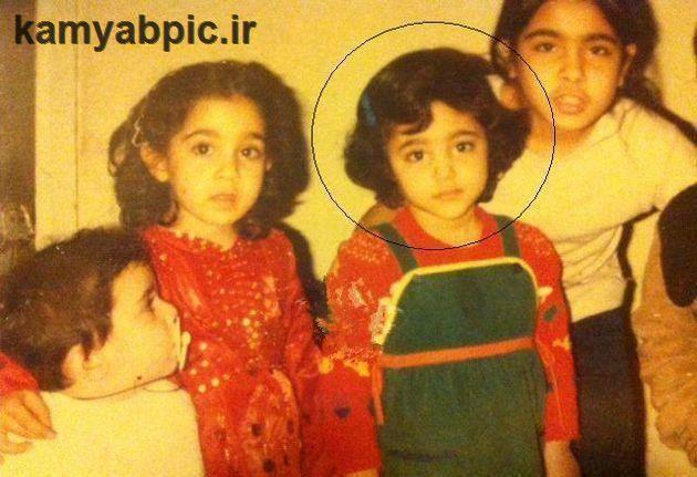 عکس کودکی گلشیفته فراهانی