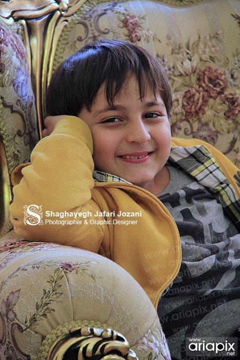 عکسهای محمدرضا شیرخانلو بازیگر کودک و خردسال