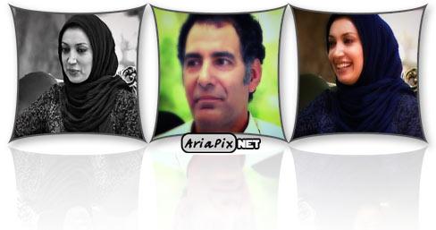 عکسهای بهنام تشکر و نگار عابدی بازیگران ایرانی در خوشا شیراز
