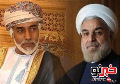 استقبال حسن روحانی از پادشاه عمان در کاخ سعدآباد