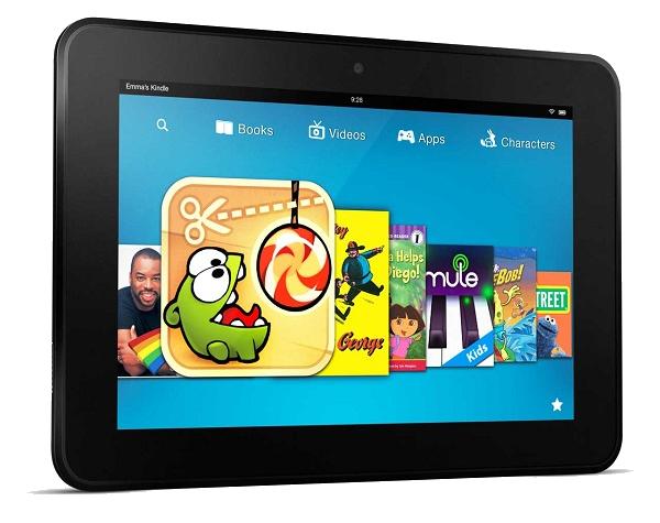 انتشار مشخصات تبلت جدید کیندل فایر HD، اسنپ ۸۰۰ و صفحه نمایش با رزولوشن ۲۵۶۰×۱۶۰۰