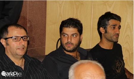عکسهای مراسم ختم پدر شقایق دهقان با حضور بازیگران