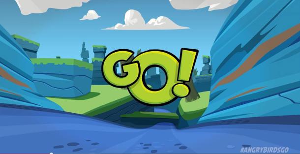 منتظر بازی جدید انگری بردز با نام Angry Birds Go باشید