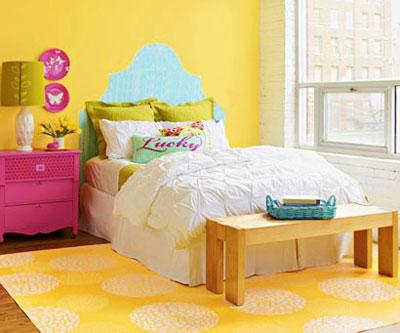 ۱۳ ایده در رنگ آمیزی و طراحی اتاق خواب