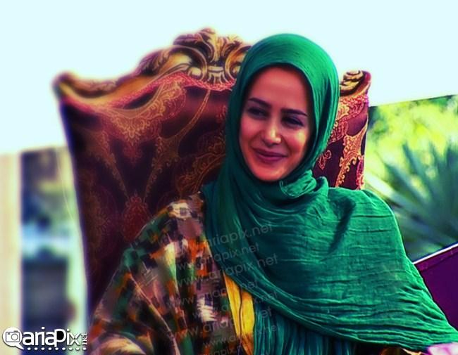 الناز حبیبی,عکسهای جدید از الناز حبیبی بازیگر ایرانی در زنده رود مرداد 92