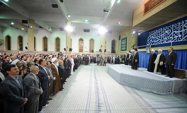تصاویر مراسم تنفیذ حکم ریاست جمهوری حجتالاسلام حسن روحانی