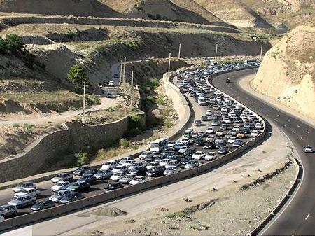 کاهش ۲ درصدی تردد جاده ای /۱۹الی ۲۰ ساعت اوج تردد جاده ای