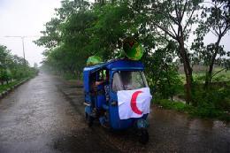 خودرو هلال احمر بنگلادش+تصویر
