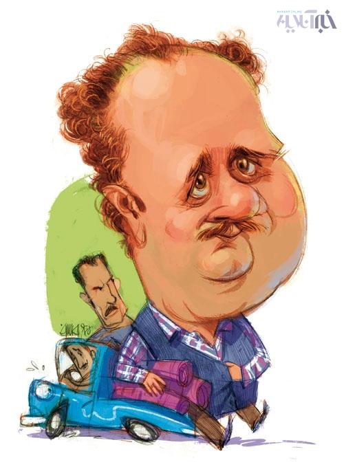 کاریکاتور/ هومن برق نورد در دودکش!
