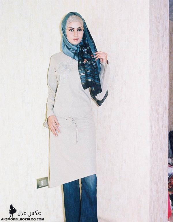 مانتو بلند و پوشیده ایرانی