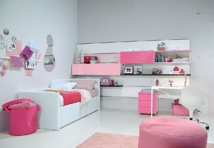 نتیجه تصویری برای دکوراسیون داخلی اتاق خواب دختر