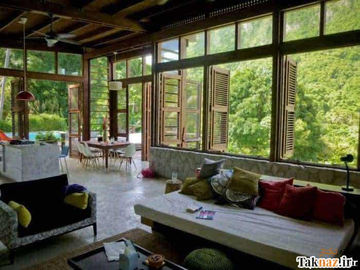 تصاویری از خانه های رویایی و زیبا برای زندگی