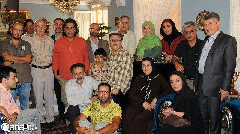 پشت صحنه سریال اولین انتخاب با حضور اکبر عبدی,مریم امیرجلالی ,لاله اسکندری ,سارا خوئینها