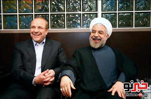 حمایت روحانی از شهردارشدن قالیباف
